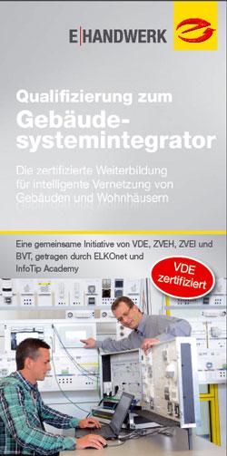 Deckblatt - Qualifizierung zum Gebaeudesystemintegrator